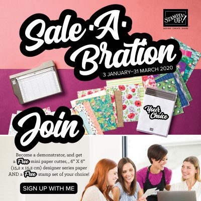 Join during Saleabration with Beth Wynn Independent Stampin' Up! Demonstrator Australia